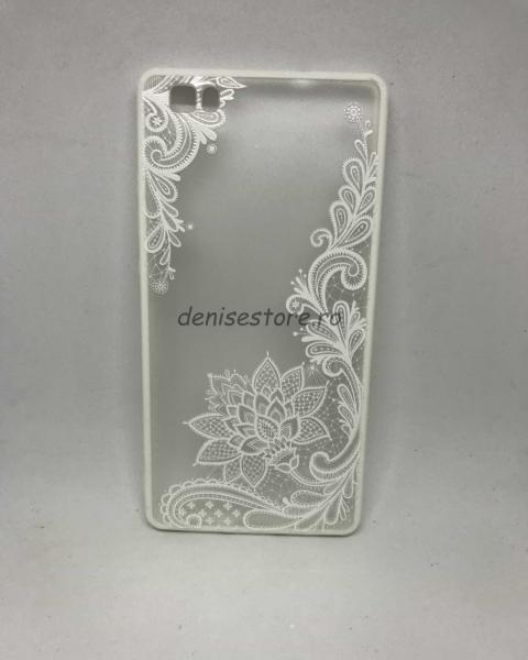 Husa Henna White Flower Huawei P8 Lite 2016 [0]