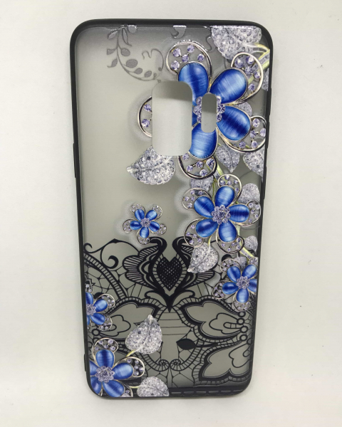 Husa Henna Black & Blue Samsung Galaxy S9 0