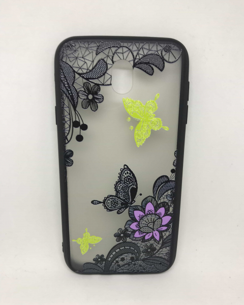 Husa Henna Black Green Samsung Galaxy J7 2017 0