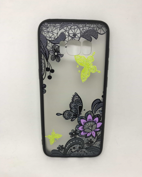 Husa Henna Black Butterfly Samsung Galaxy S8 0
