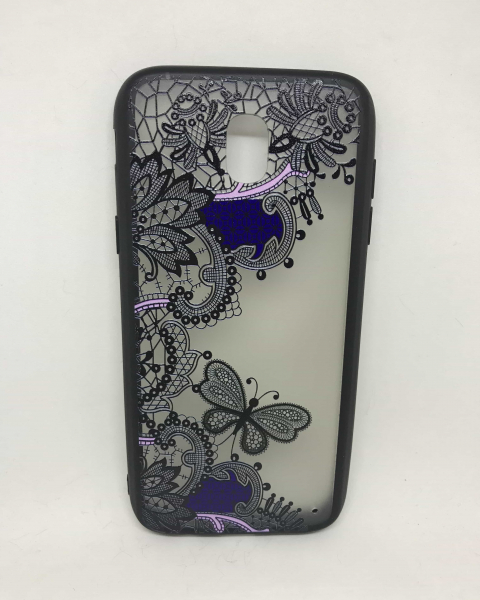 Husa Henna Black & Purple Samsung Galaxy J5 2017 0