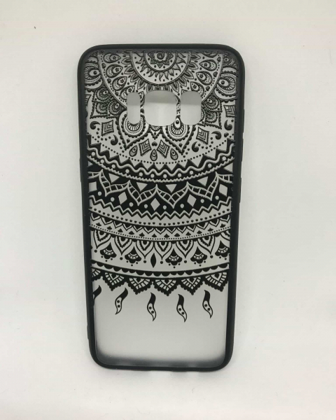 Husa Henna Black Tribal Samsung Galaxy S8 0
