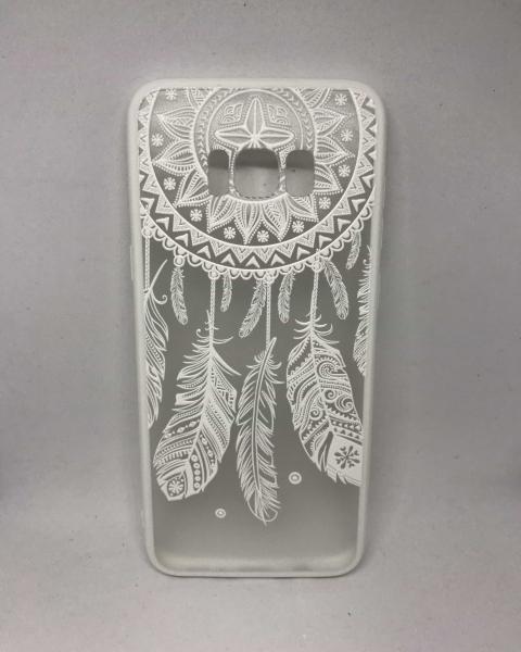 Husa Henna Dreamcatcher White Samsung Galaxy S8 Plus [0]