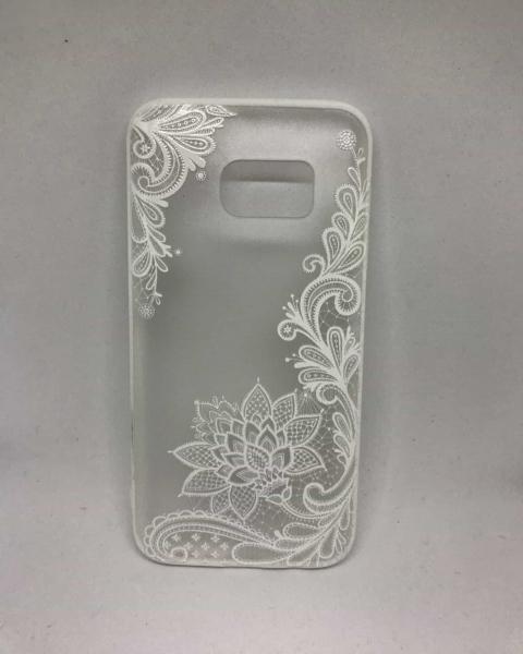 Husa Henna White Flower Samsung Galaxy S7 0