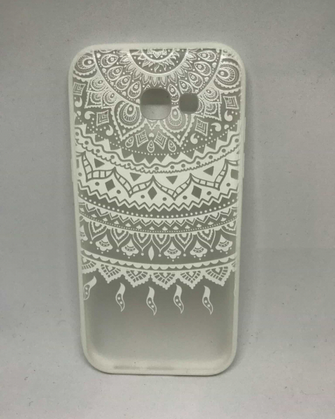 Husa Henna Tribal White Samsung Galaxy A5 2017 0