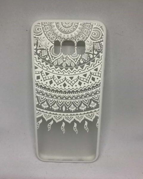 Husa Henna White Tribal Samsung Galaxy S8 Plus 0
