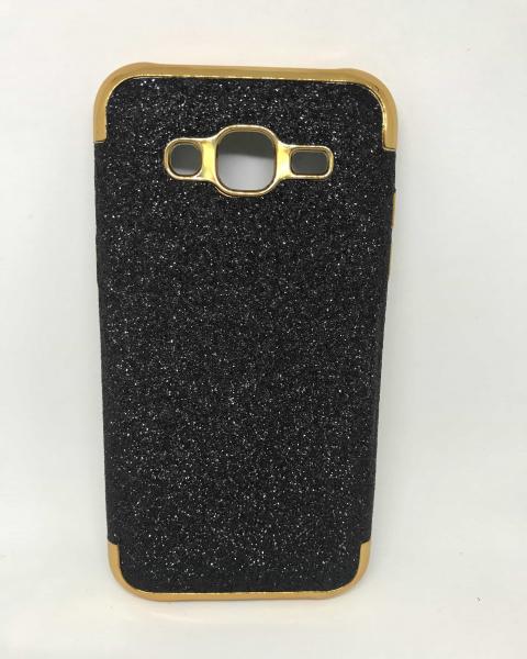 Husa Glitter Black Samsung Galaxy J5 2015 [0]