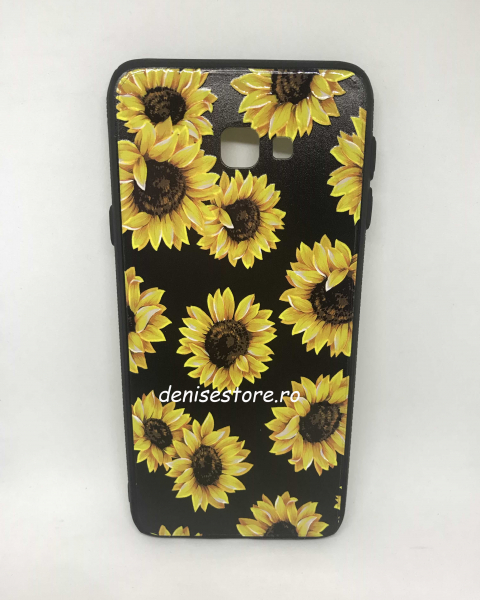 Husa Sunflowers Samsung Galaxy J4 Plus 2018 0
