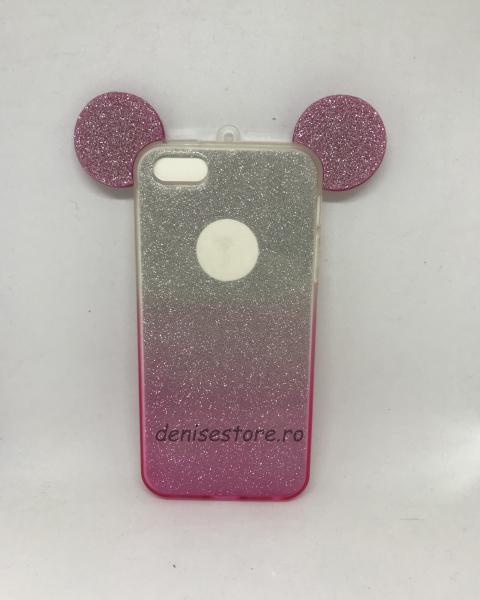Husa Urechi Pink iPhone 5/5s/SE 0