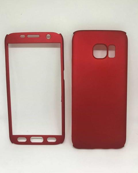 Husa 360 Plastic Red Samsung Galaxy S7 0