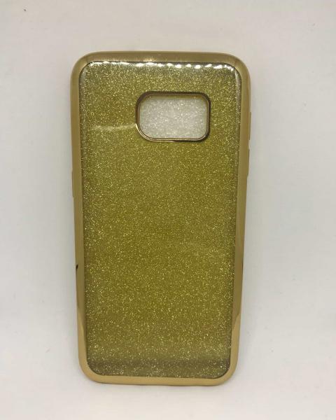 Husa Glitter Gold Samsung Galaxy S7 0