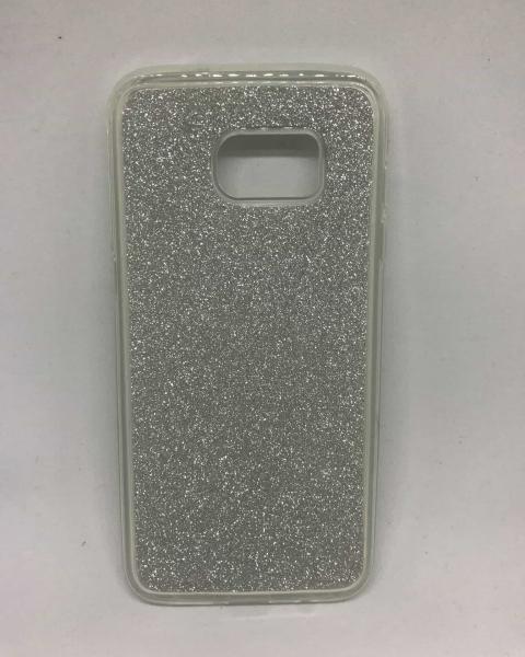 Husa Glitter Silver Samsung Galaxy S7 Edge 0