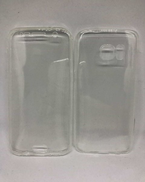 Husa 360 Silicon Transparent Samsung Galaxy S7 0