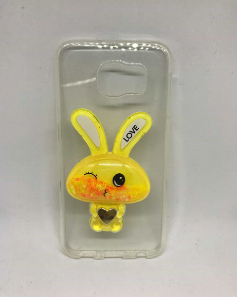 Husa Yellow Rabbit Samsung Galaxy S6 0
