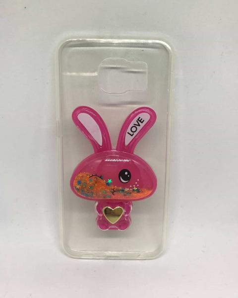 Husa Pink Rabbit Samsung Galaxy S6 [0]