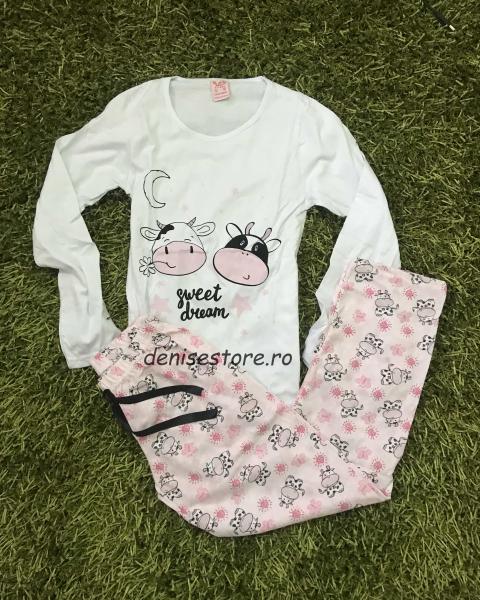 Pijama Cows Sweet Dreams 0
