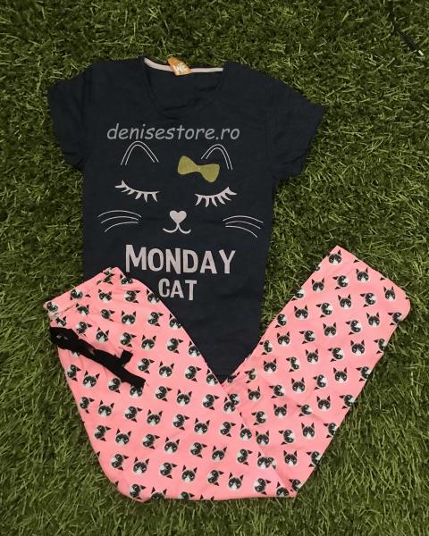 Pijama Monday Cat 0