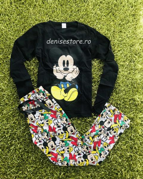 Pijama Mickey Cute Black 0