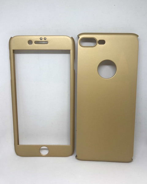 Husa 360 Plastic Gold iPhone 7 Plus / iPhone 8 Plus 0