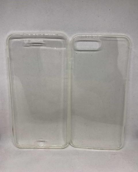 Husa 360 Silicon Transparent iPhone 7 Plus / iPhone 8 Plus 0