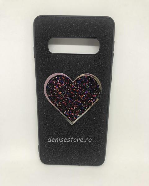 Husa Black Heart Samsung Galaxy S10 [0]