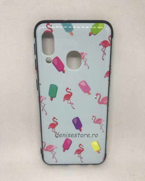 Husa Flamingo Samsung Galaxy A20e 0