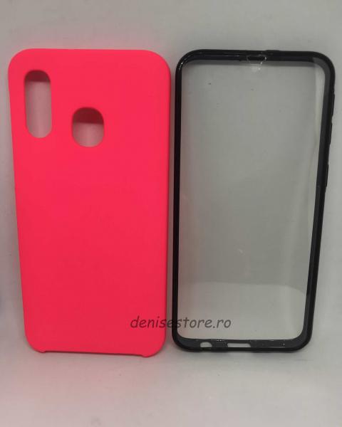Husa 360 Pink Neon Samsung Galaxy A40 0