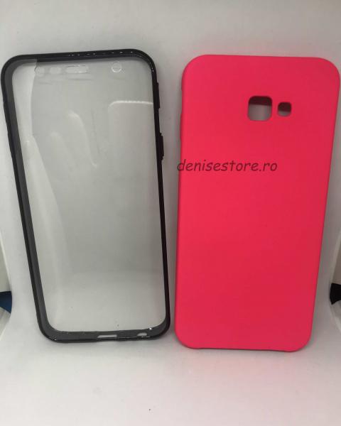 Husa 360 Neon Pink Samsung Galaxy J4 Plus 2018 0