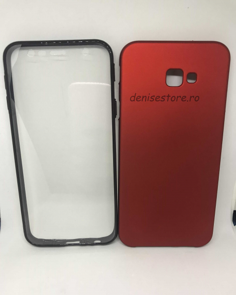 Husa 360 Red Wine Samsung Galaxy J4 Plus 2018 0