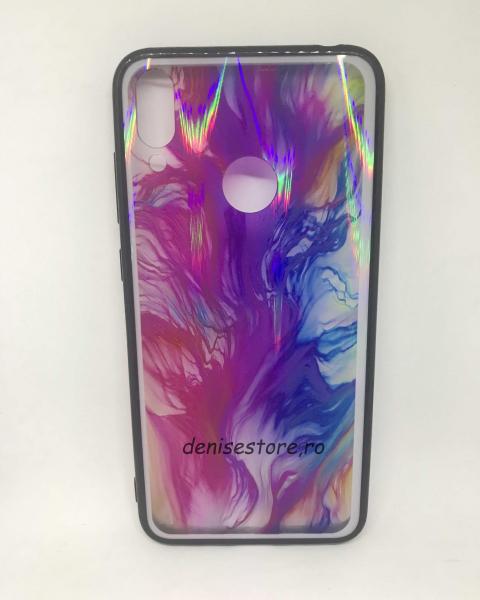Husa Marble Purple Huawei Y7 2019 0