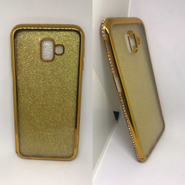 Husa Glitter Rhinestones Samsung Galaxy J6 Plus 2018 0