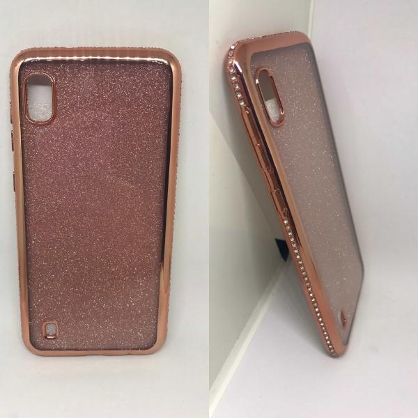 Husa Glitter Rose Rhinestones Samsung Galaxy A10 0