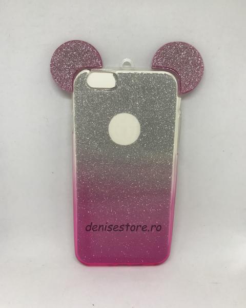 Husa Urechi Pink iPhone 6/6s 0