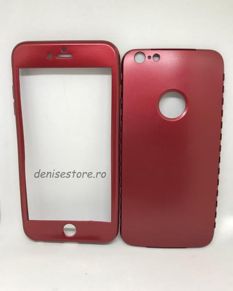 Husa 360 Silicon Visiniu iPhone 6 Plus /  6S Plus [0]
