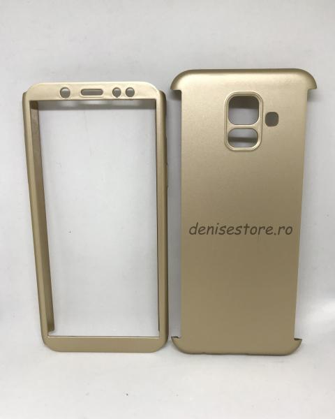 Husa 360 Plastic Gold Samsung Galaxy A6 2018 [0]