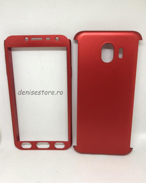 Husa 360 Plastic Red Samsung Galaxy J4 2018 0