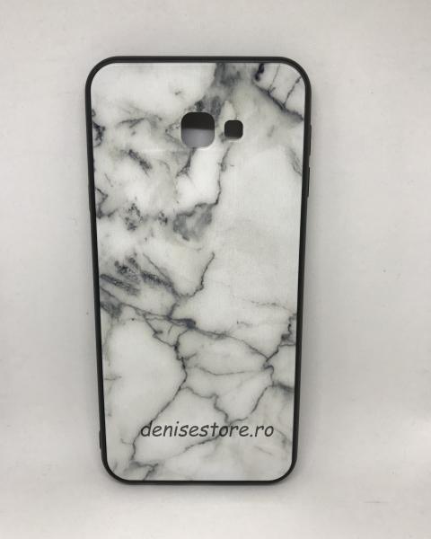 Husa White Marble Samsung Galaxy J4 Plus 2018 0