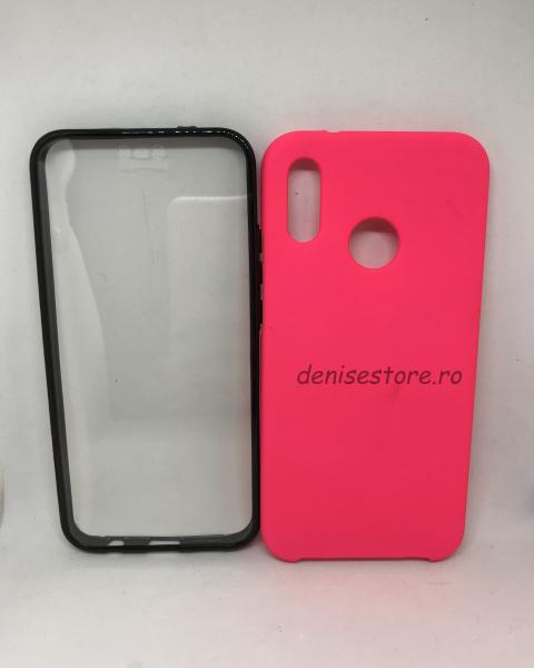 Husa 360 Pink Neon Huawei P20 Lite 0
