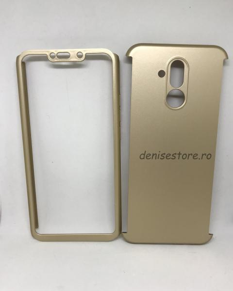 Husa 360 Plastic Gold Huawei Mate 20 Lite 0