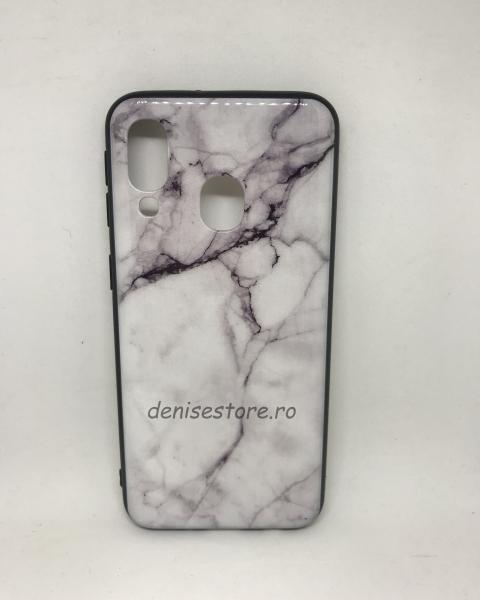 Husa Marble White Samsung Galaxy A40 [0]
