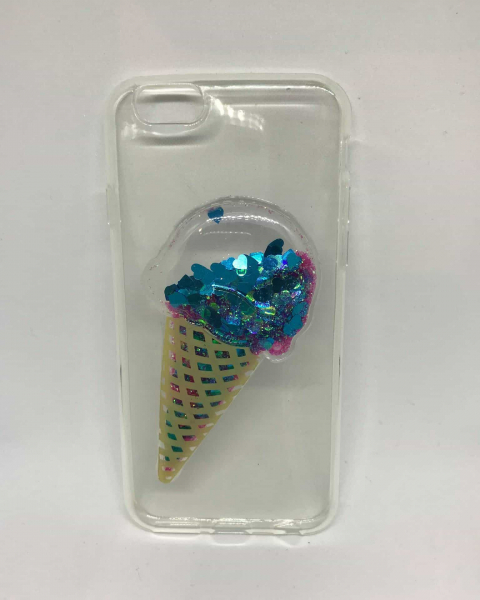 Husa Blue Ice Cream iPhone 6/6s 0