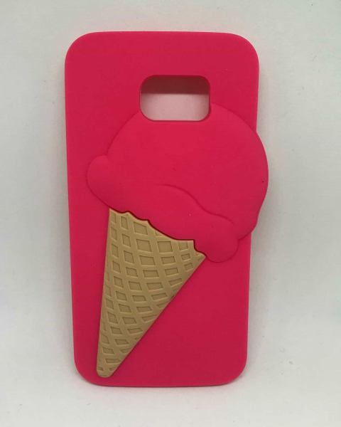 Husa Pink Ice Cream Samsung Galaxy S6 0