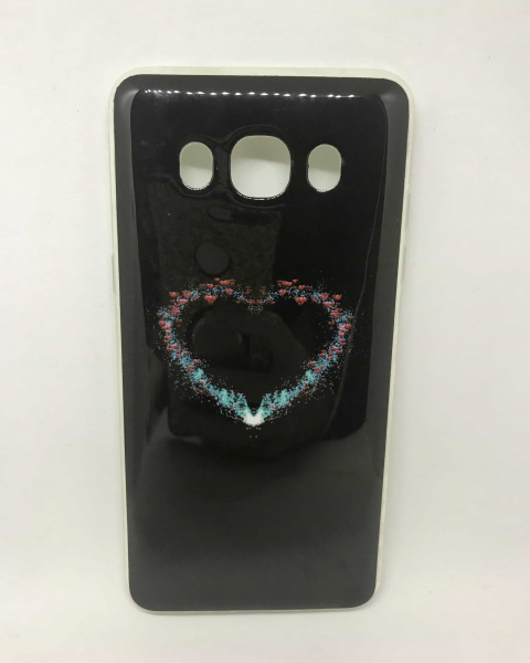 Husa Black Heart Samsung Galaxy J5 2016 0