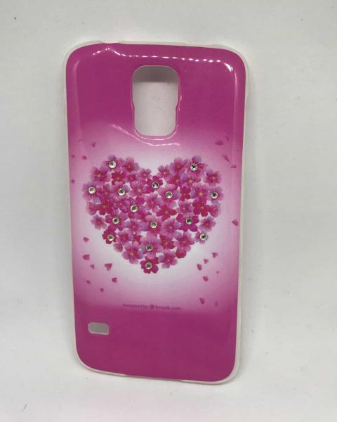 Husa Pink Heart Samsung S5/S5 Neo [0]