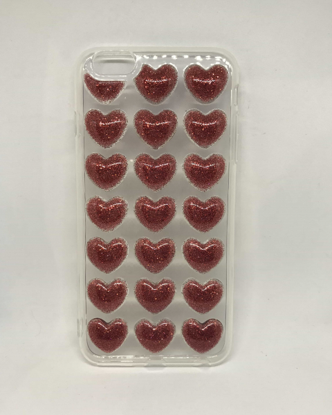 Husa Red Hearts iPhone 6 Plus/ 6s Plus 0