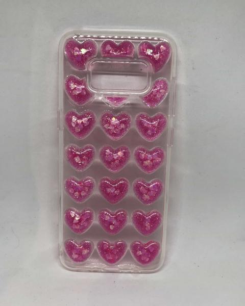 Husa Pink Hearts Samsung Galaxy S8 0