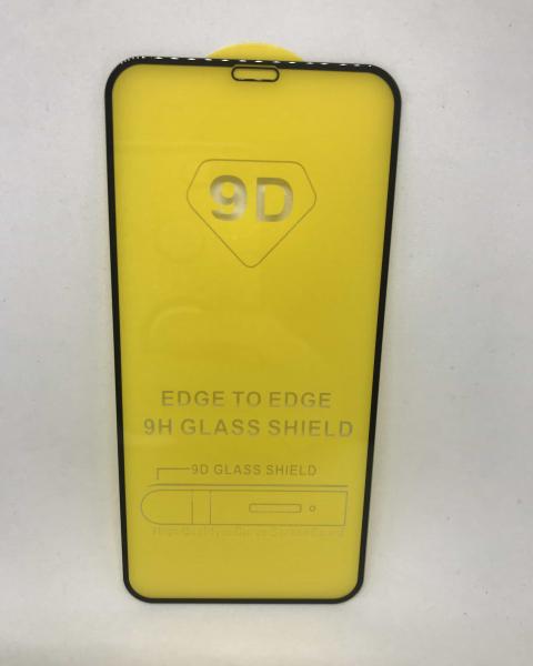 Folie de sticla 5D Black iPhone X/XS 0