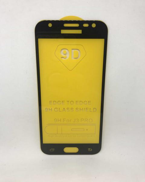 Folie de sticla 5D Black Samsung J3 2017 [0]