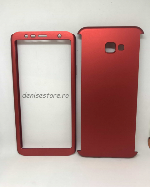 Husa 360 Plastic Red Samsung Galaxy J4 Plus 2018 [0]