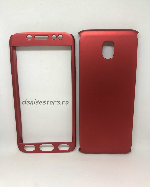 Husa 360 Plastic Red Samsung Galaxy J5 2017 0